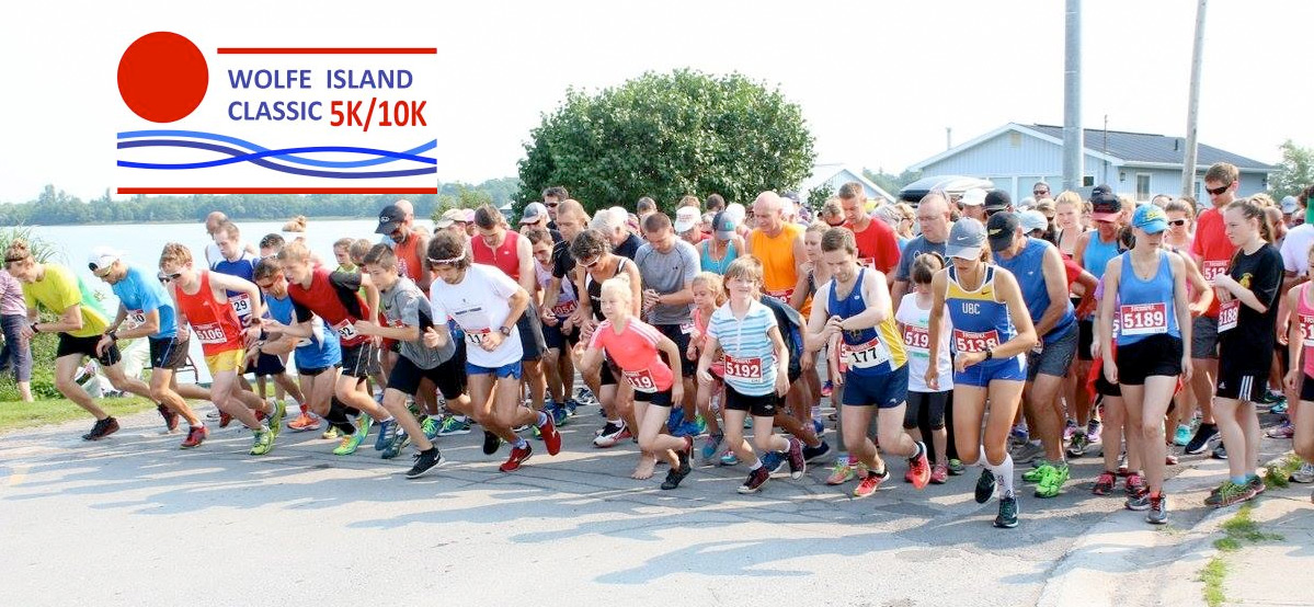Wolfe Island Classic 5K & 10K A terrific addition to the KRRA Race Series. Run the 5K for points.