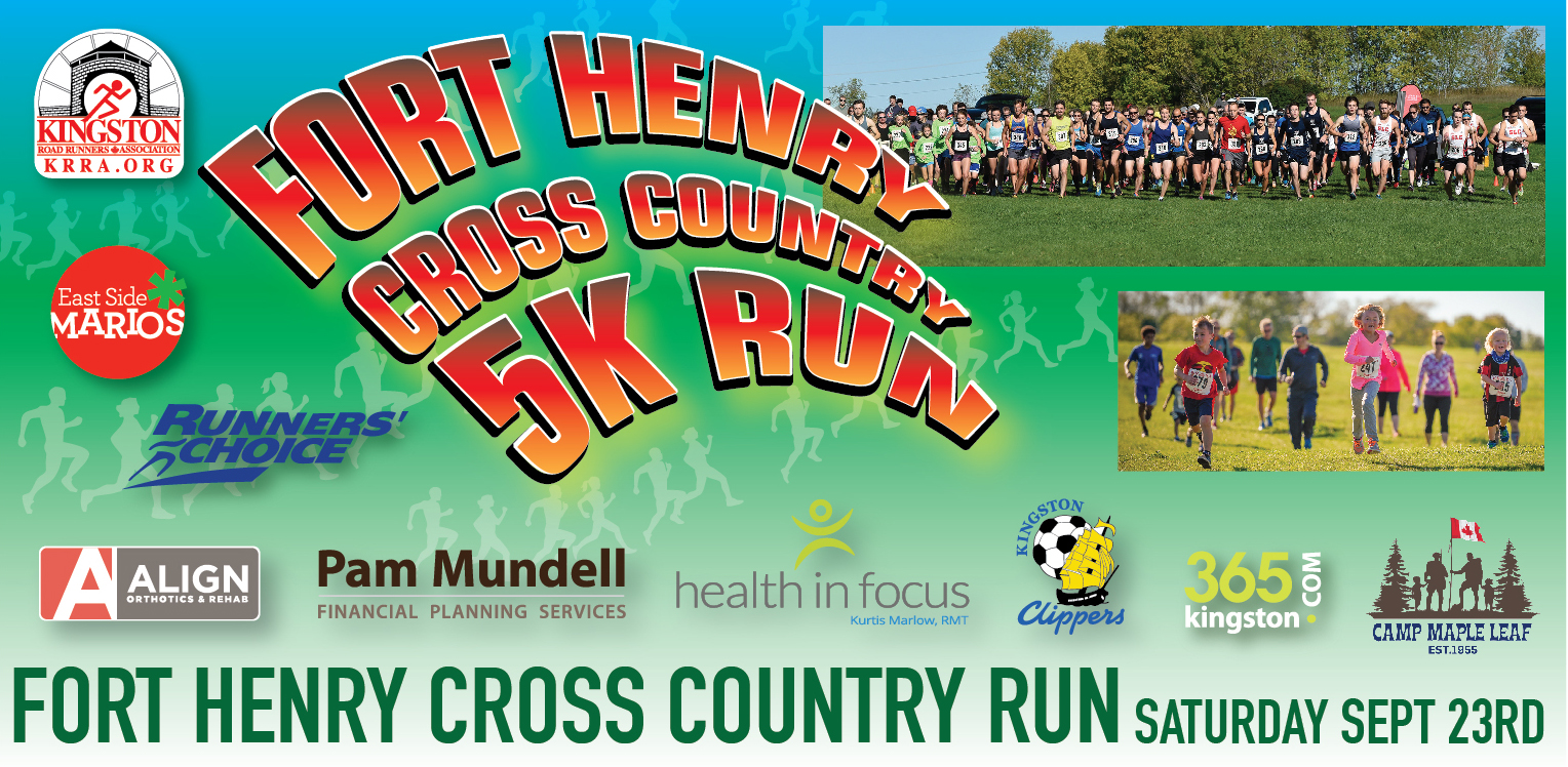 Fort Henry Cross Country race. Saturday September 23rd.